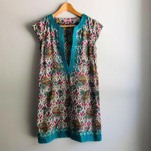 Calypso St. Barth Rowena Tunic Dress Paisley